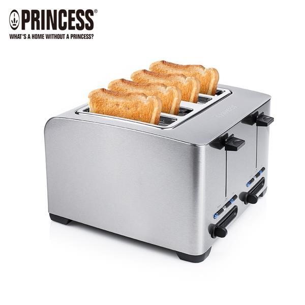 【Princess】荷蘭公主不鏽鋼四片烤吐司機142397