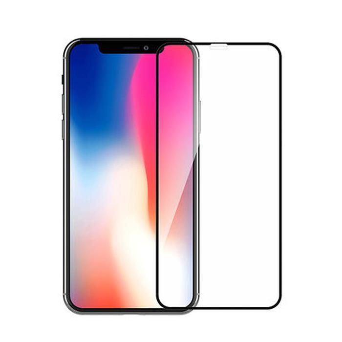 【Q&K】全覆蓋iPhone Xs/X 高清亮面9H鋼化保護貼