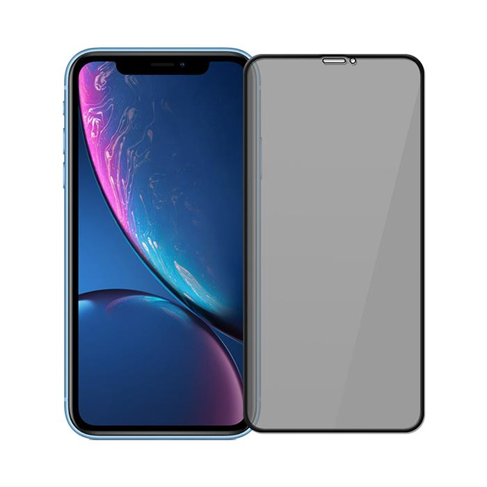 iPhone XR 高透防窺滿版9H鋼化玻璃保護貼