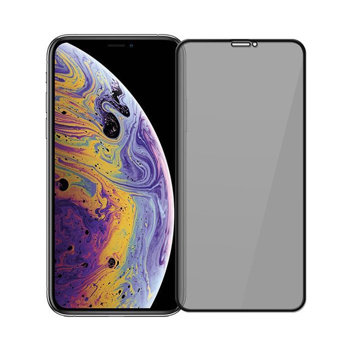 iPhone Xs/X 高透防窺滿版9H鋼化玻璃保護貼