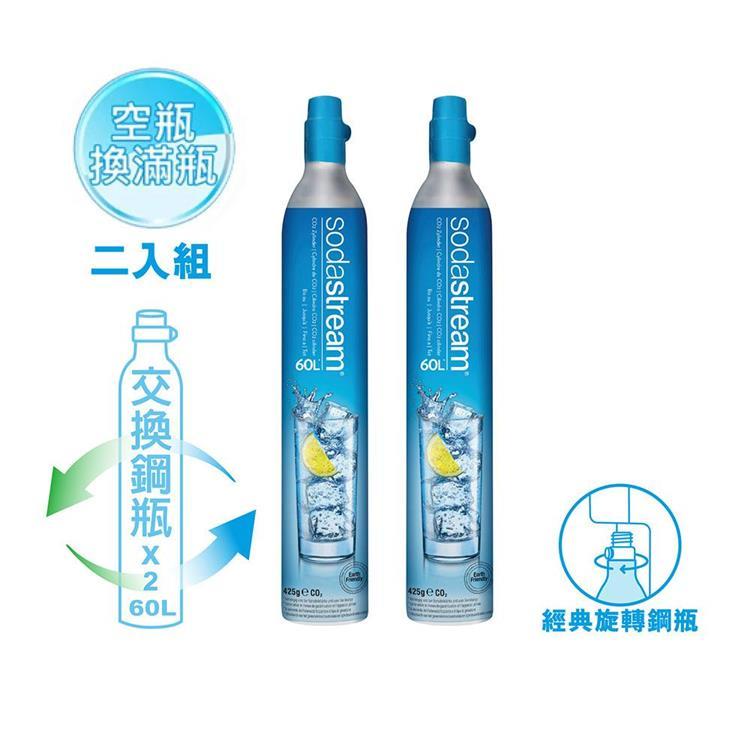(超值2入組)Sodastream 二氧化碳交換鋼瓶425g