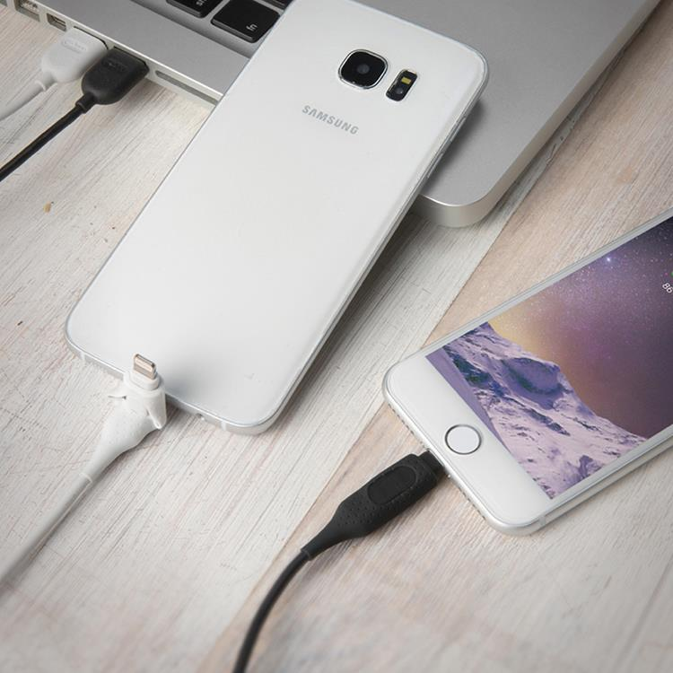 【Bone】 iDualink 二合一雙頭傳輸線 ( Lightning / micro USB )