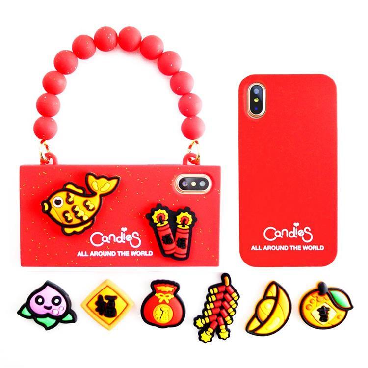 【Candies】Simple系列新年禮品包-IPhone X/XS