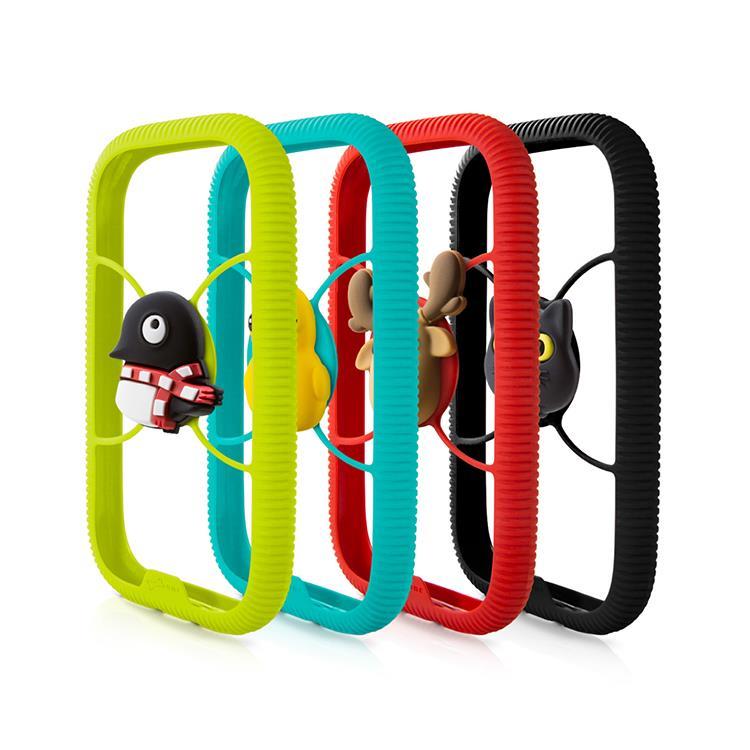 【Bone】環形手機綁 Phone RingTie - 防手滑輕薄手機邊框-企鵝小丸