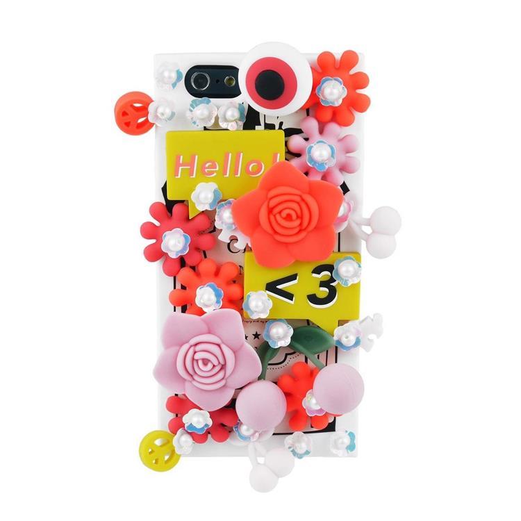 【Candies】立體花朵手機殼-IPhone 6/6S