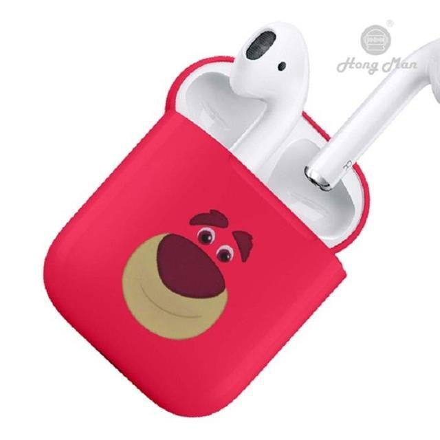 迪士尼正版授權 AirPods硬式保護套 玩具總動員 熊抱哥