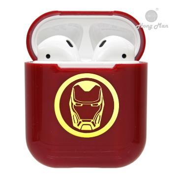 復仇者聯盟系列 AirPods硬式保護套 鋼鐵人 (紅)