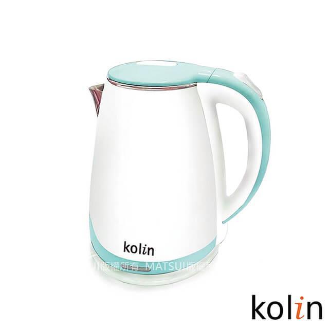 Kolin歌林 1.5L防燙不銹鋼快煮壺 KPK-DL1502S