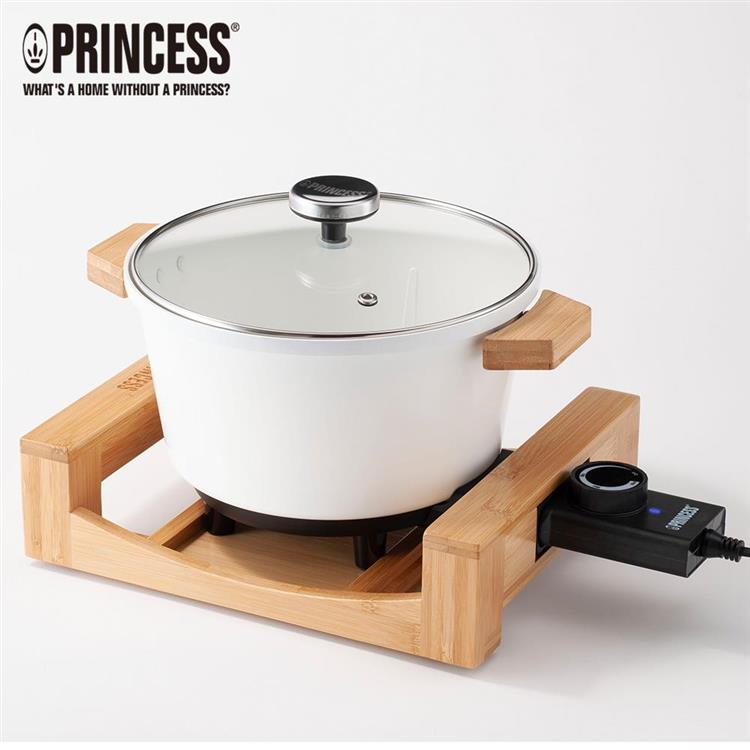 【Princess】荷蘭公主多功能陶瓷料理鍋173030-白