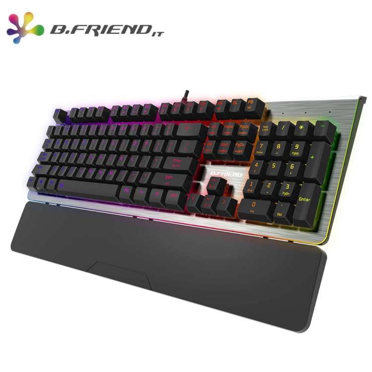 B.FRIEND MK9A RGB機械式鍵盤(青軸)