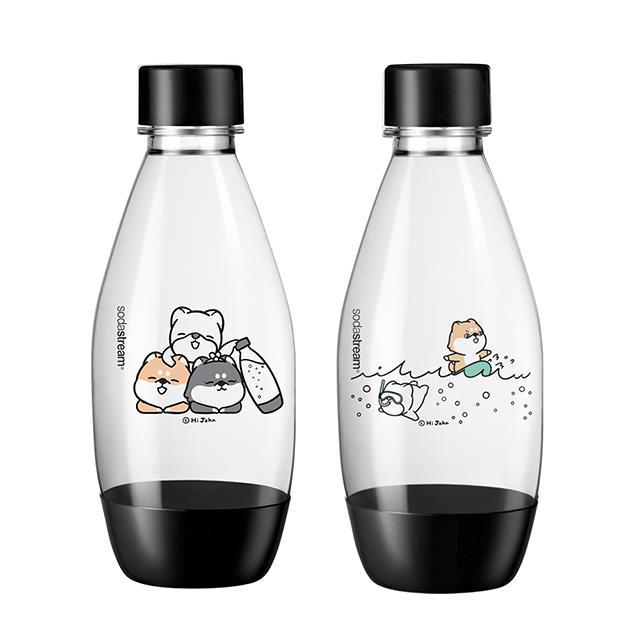 Sodastream 水滴型專用水瓶 500ML 2入(嗨 小強)