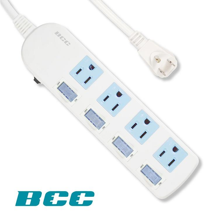 BCC FC154 4切4插延長線