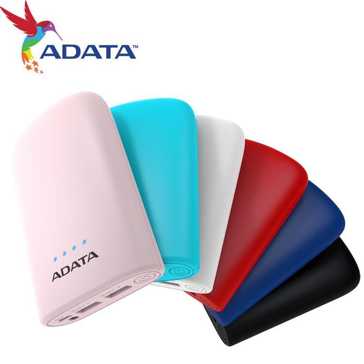 ADATA 威剛 P10050V 行動電源 2A輸入 2.4A輸出 電芯容量 10050mAh