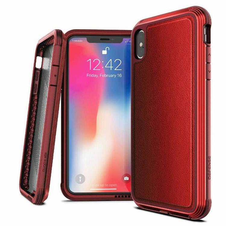 X-Doria 刀鋒奢華系列 iPhone XS 保護殼 (紅色)