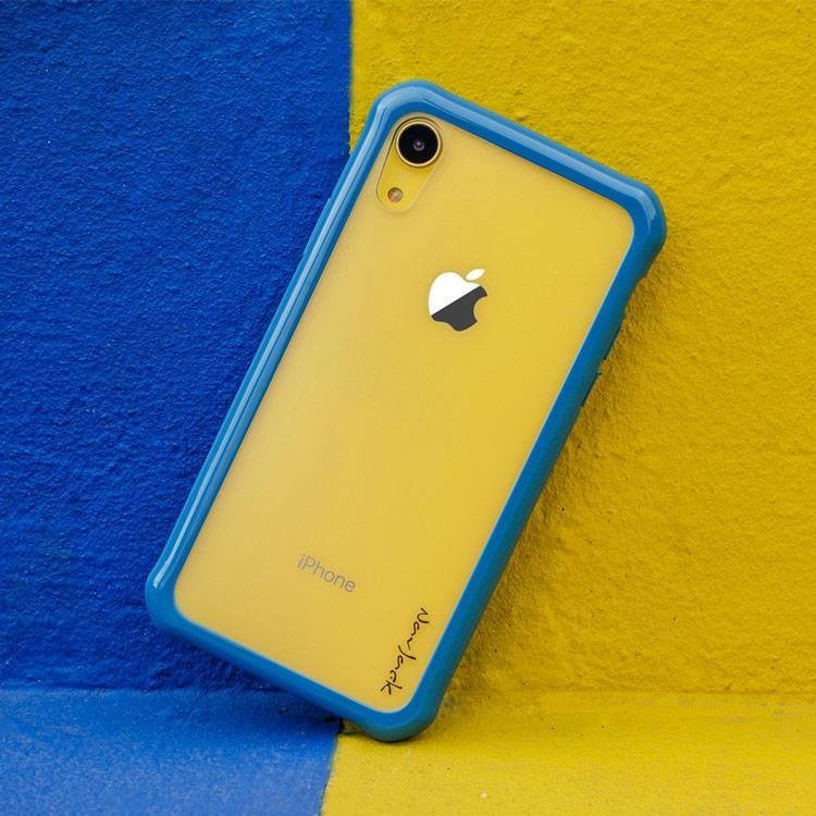 【Navjack】iPhone XR 超抗摔軍規保護殼_暮色藍