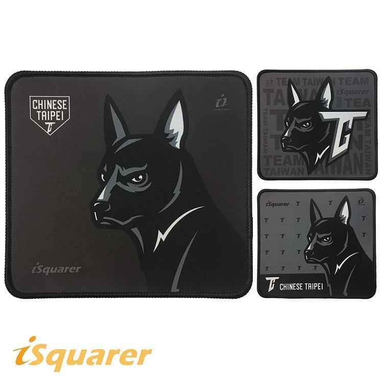 【iSquarer】中職台灣犬電競滑鼠墊