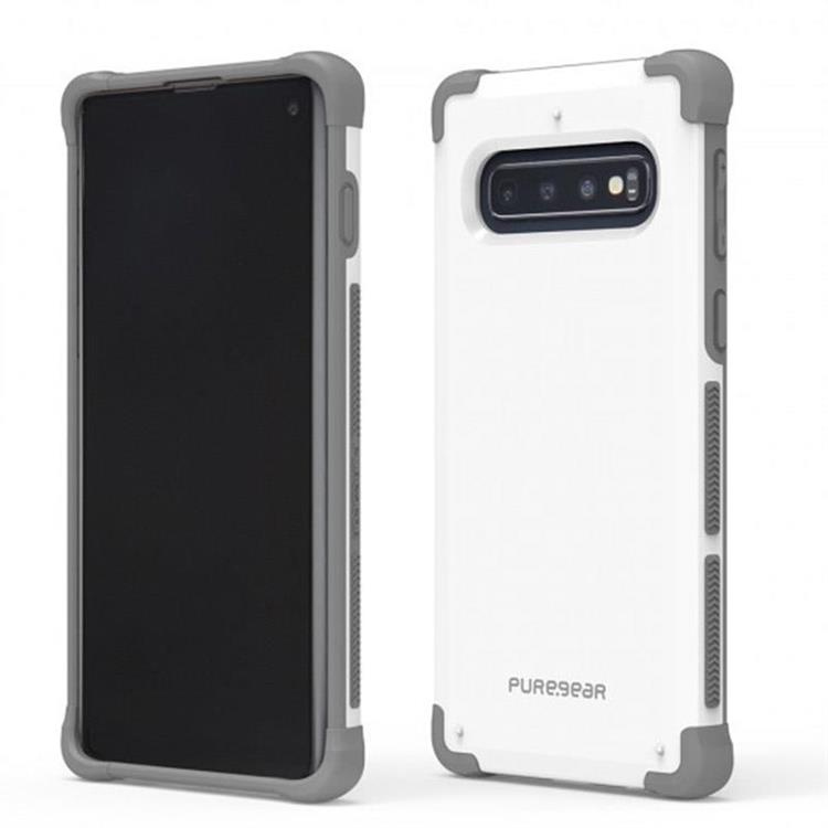 Puregear DUALTEK坦克保護殼 Samsung Galaxy S10 PLUS(極地白)