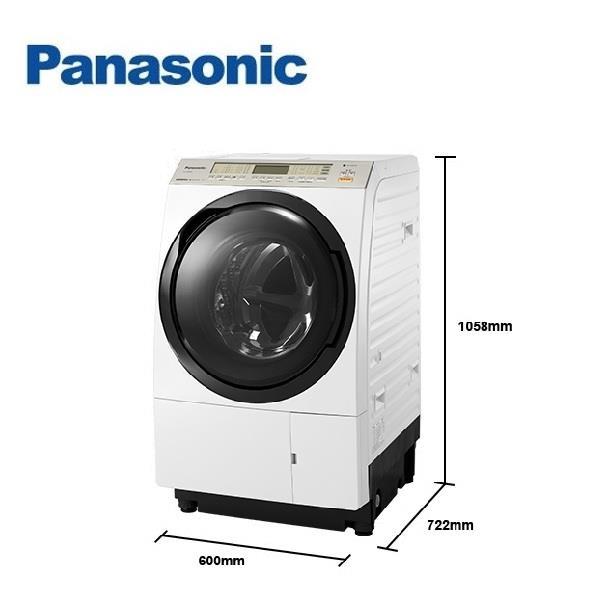 Panasonic 國際牌 11公斤 滾筒洗衣機 右開 NA-VX88GR