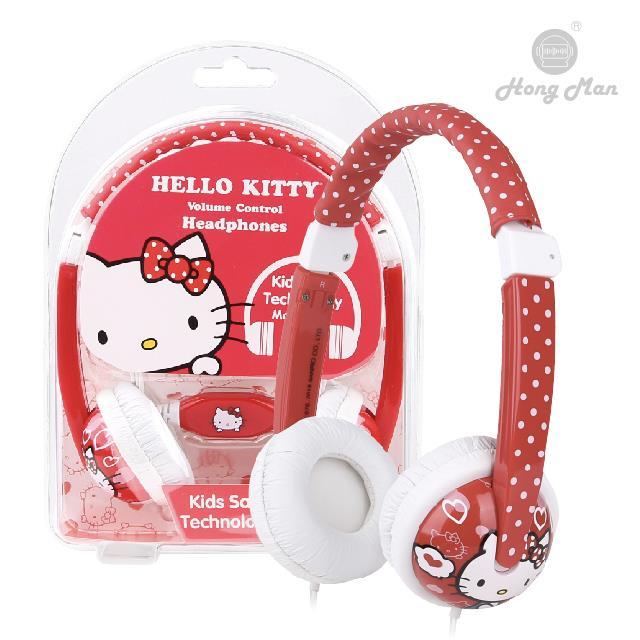Sparrow Kids 三麗鷗系列 兒童耳機 Hello Kitty