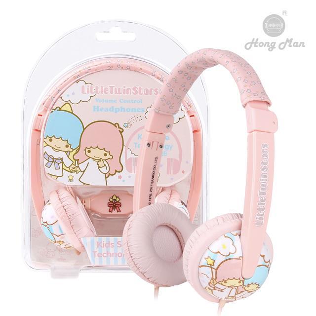 Sparrow Kids 三麗鷗系列 兒童耳機 雙子星