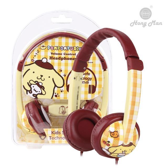 Sparrow Kids 三麗鷗系列 兒童耳機 布丁狗