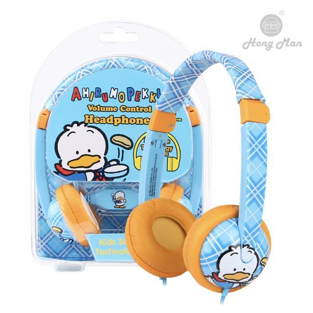 Sparrow Kids 三麗鷗系列 兒童耳機 貝克鴨