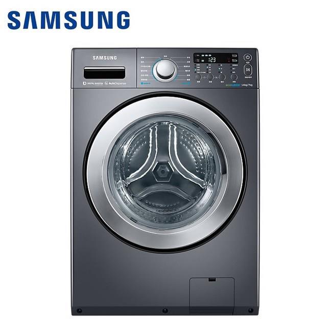 Samsung 三星 14KG變頻滾筒洗脫烘洗衣機 洗衣機 WD14F5K5ASG/TW