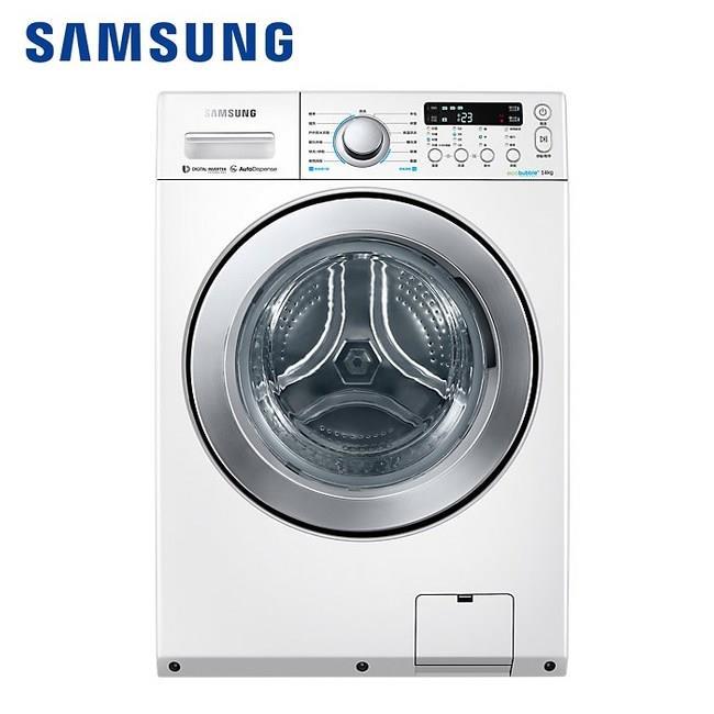 Samsung 三星 14KG變頻滾筒洗脫烘洗衣機 洗衣機 WD14F5K5ASW/TW