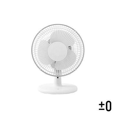 日本 ±0 正負零 桌上型電風扇 桌扇 XQS-A220(白)