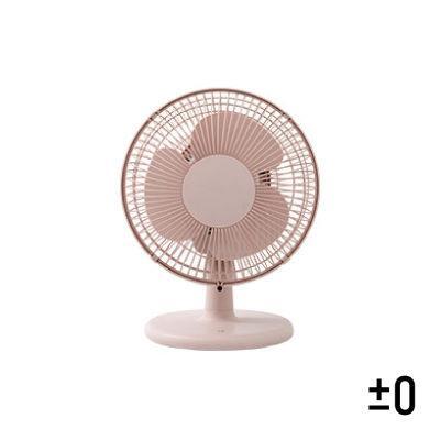 日本 ±0 正負零 桌上型電風扇 桌扇 XQS-A220(粉)