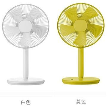 日本 ±0 正負零12吋生活遙控立扇XQS-Z710 (黃色)