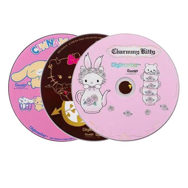 HELLO KITTY可愛造型典藏DVD-R 1-16X (25片裝)
