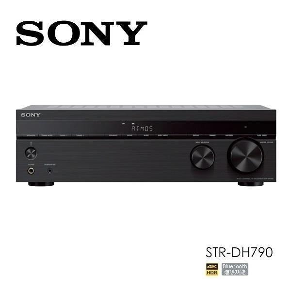 SONY 7.2聲道AV環繞擴大機 擴大機 STR-DH790