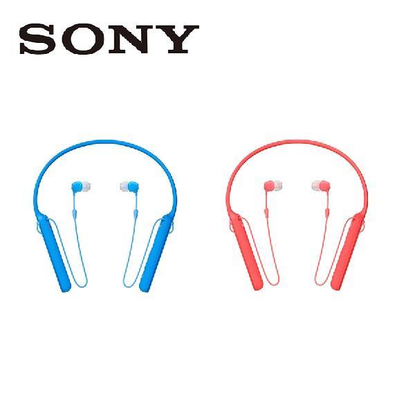SONY 索尼 無線入耳式耳機 WI-C400 紅藍兩色