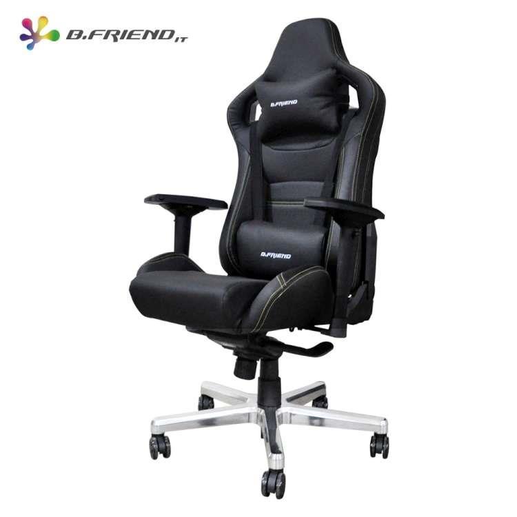 B.Friend GC07 電競專用椅(黑)