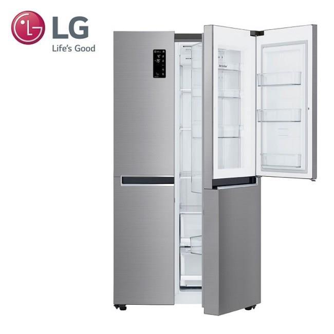 LG 樂金 821公升門中門對開冰箱 GR-DL88SV 星辰銀