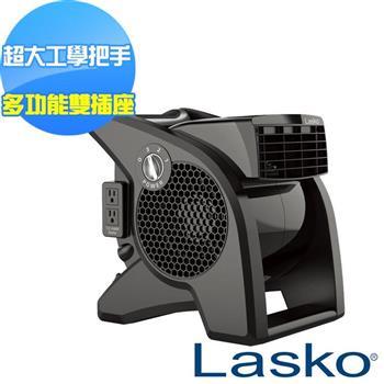 【美國 Lasko】AirSmart 黑武士 渦輪循環風扇 U15617TW