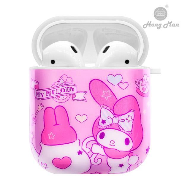 三麗鷗系列 AirPods防塵耐磨保護套 美樂蒂 夢幻午茶