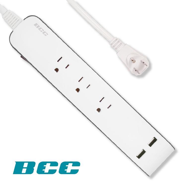 【BCC】FC902 1切3插2USB延長線