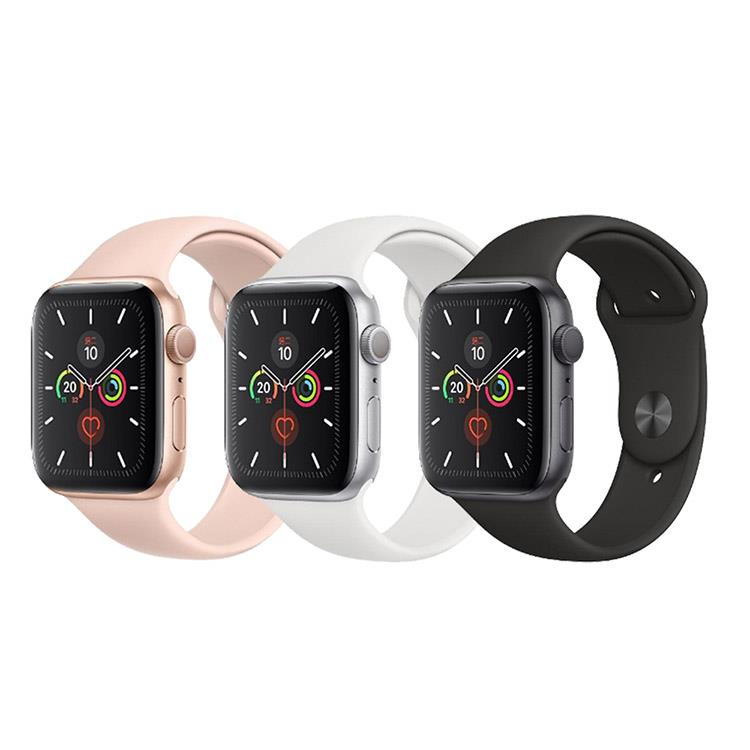 Apple Watch Series 5 (GPS+行動網路) 44mm鋁金屬錶殼搭配運動型錶帶
