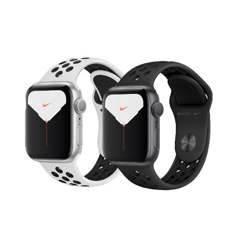 Apple Watch Nike+ Series 5 (GPS+行動網路)44mm鋁金屬Nike錶帶