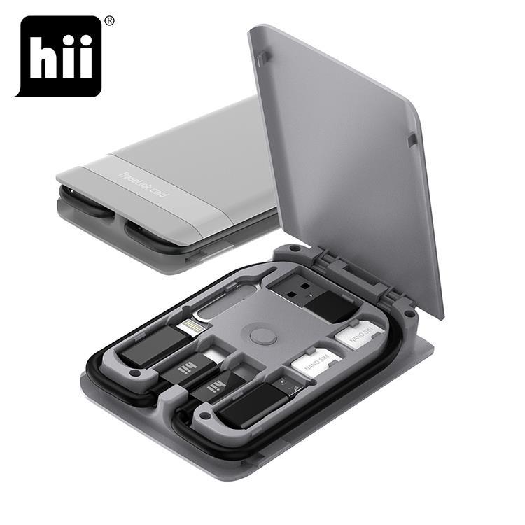 Hii 15W無線充電 旅遊隨行卡 Travelink card 升級版 (H515W-15W)