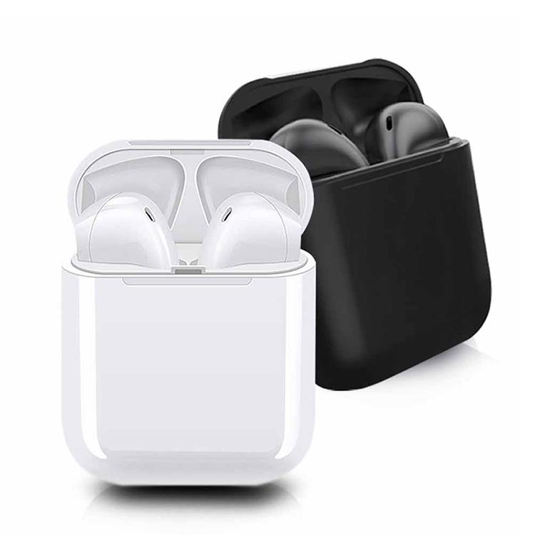 inPods 12 馬卡龍 藍牙耳機-黑色