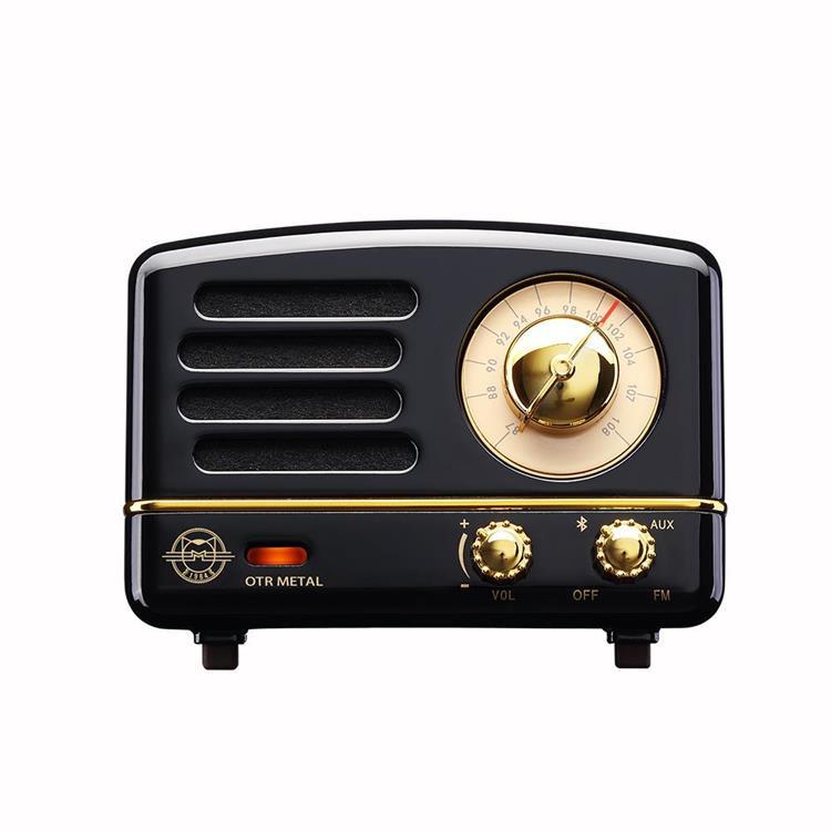 MUZEN OTR Metal 經典復刻藍牙音響收音機-8色可選