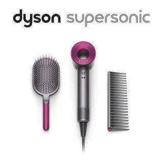Dyson Supersonic HD01 吹風機 桃紅色 附專用按摩髮梳及順髮梳