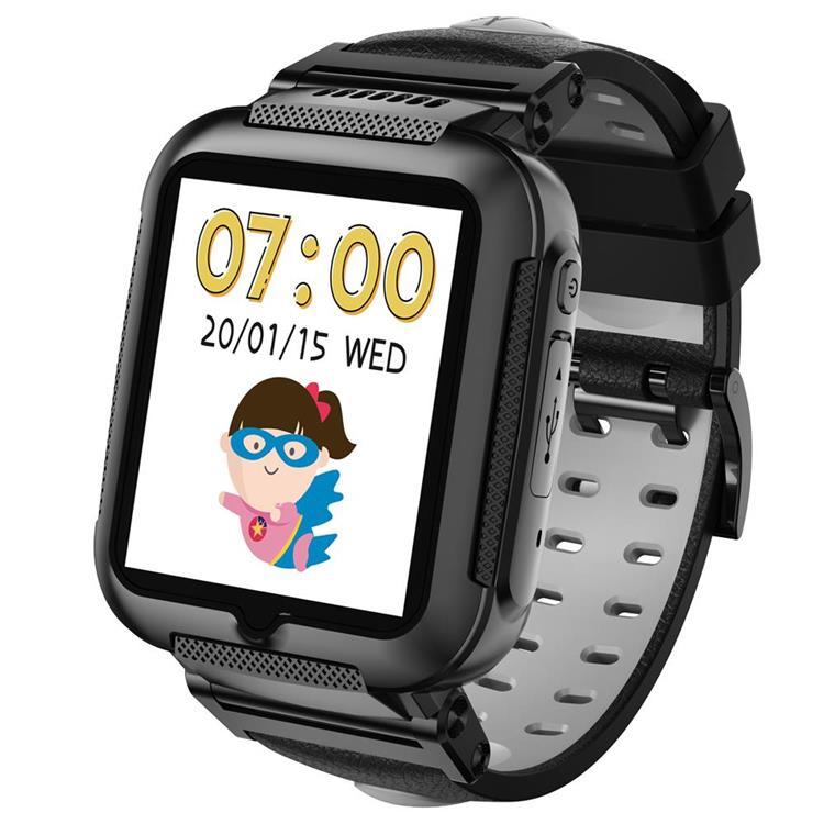 【hereu】herowatch  4G兒童智慧手錶-偵探黑