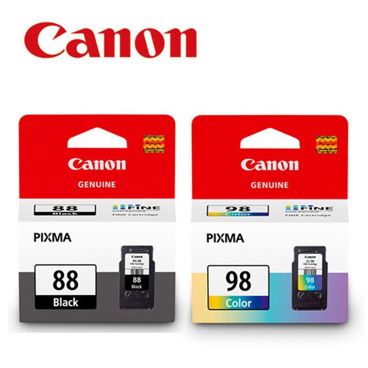 CANON PG-88+CL-98 原廠墨水匣組合(1黑1彩)