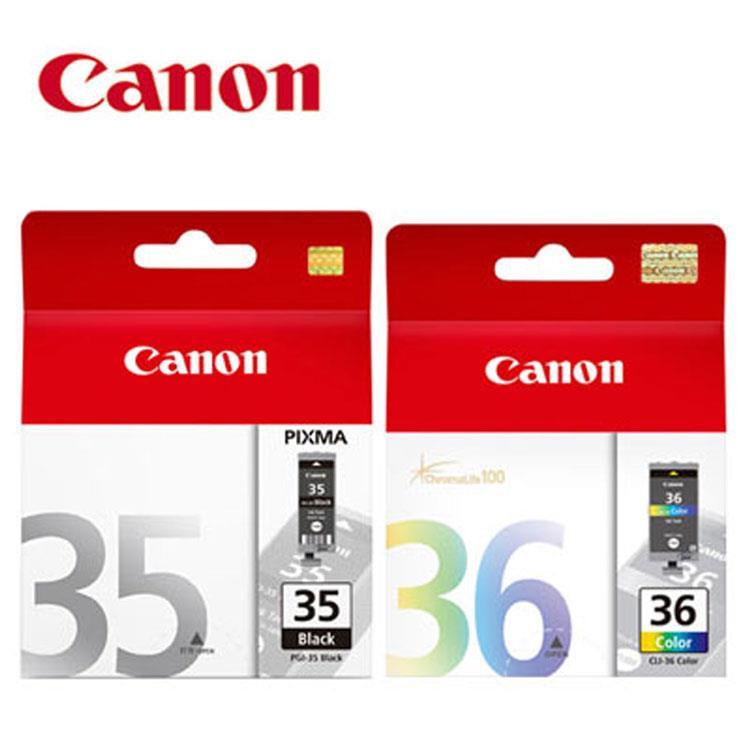 CANON PGI-35+CLI-36 原廠墨水匣組合(1黑1彩)