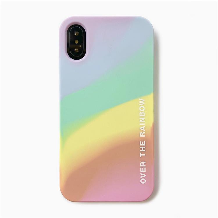 【Candies】Simple系列 光之彩虹 - iPhone X.XS