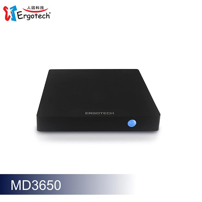 Ergotech人因科技 4KHDR高清雲端智慧電視盒 MD3650DK